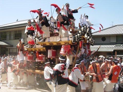 平成29年 平野區 弓弦羽神社宮入り 東灘区御影地区だんじり祭り