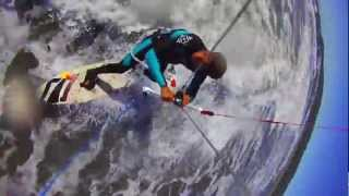 Kitesurfing Off of Icebergs & SUPing Tidal Waves