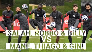 FULL MATCH:  Salah, Robertson & Koumetio vs Thiago, Mane & Wijnaldum | Head tennis