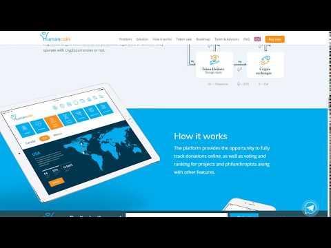 ICO HumanCoin - Интеграция технологии блокчейн в благотворительную индустрию