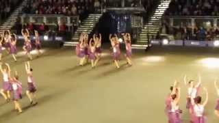 Jai Ho! Royal Edinburgh Military Tattoo showcases Scottish Dance to Indian composition.