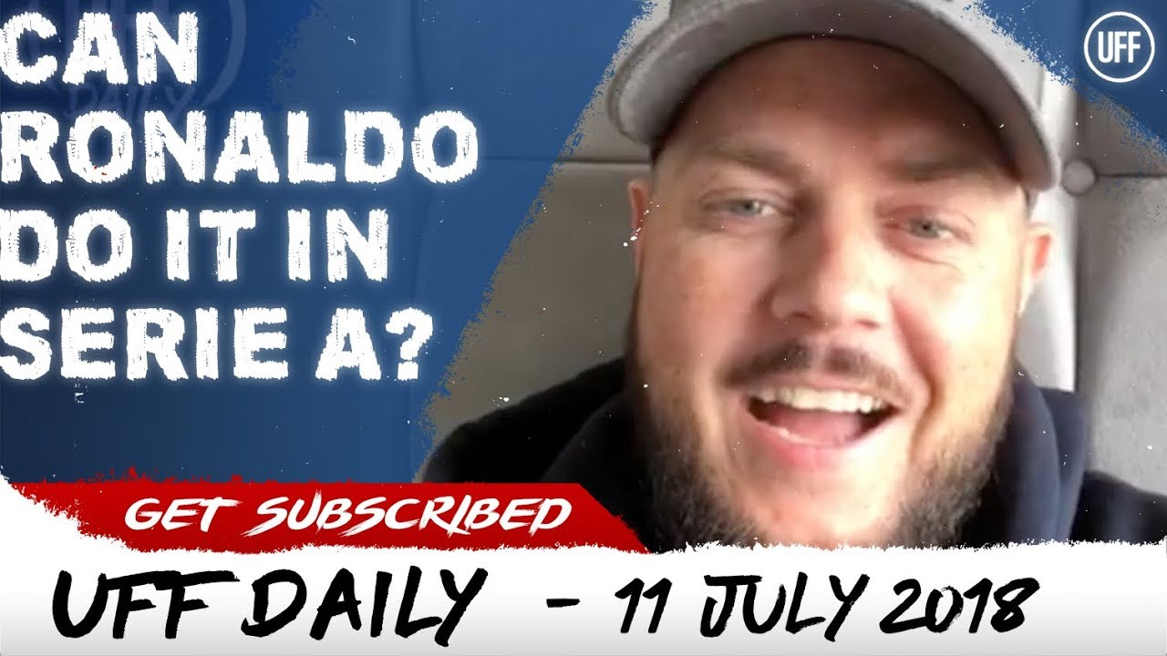 CAN RONALDO DO IT IN THE SERIE A ? | UFF Daily