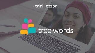 Пробный урок в онлайн школе английского языка TreeWords