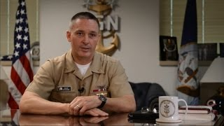 MCPON Talks on Suicide Prevention Awareness Month
