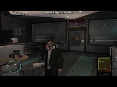 GTA IV GAMEPLAY - Mallorie Call After Roman Death