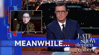 Meanwhile... Ruth-less Bader Ginsburg