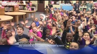 Rob Fowler Talks Weather 101 with Sangaree Elementary School_Group 2