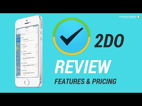 2Do for iOS  | features, demo and pricing