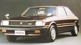 1981年昭和56年初代トヨタ ターセのカタログです。 トヨタ初のFF(前輪...