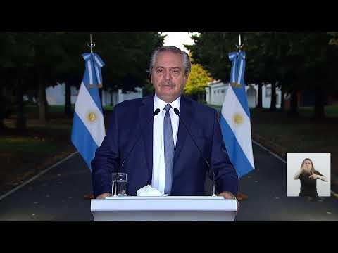 Coronavirus COVID-19 | Anuncio del presidente Alberto Fernández desde Olivos
