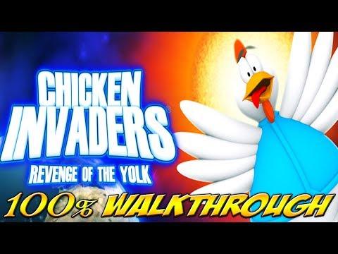Chicken Invaders 3: Revenge of the Yolk - ALL WAVES / LEVELS [100% walkthrough]