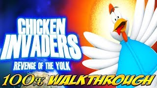Chicken Invaders 3: Revenge of the Yolk - ALL WAVES / LEVELS [100% walkthrough]
