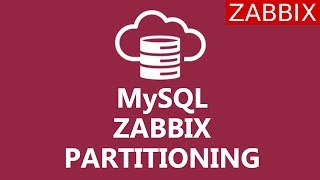 MySQL Database partitioning for ZABBIX