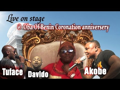AKOBE, DAVIDO AND TUFACE LIVE ON STAGE (@ OBA OF BENIN CORONATION ANNIVERSARY PARTY)