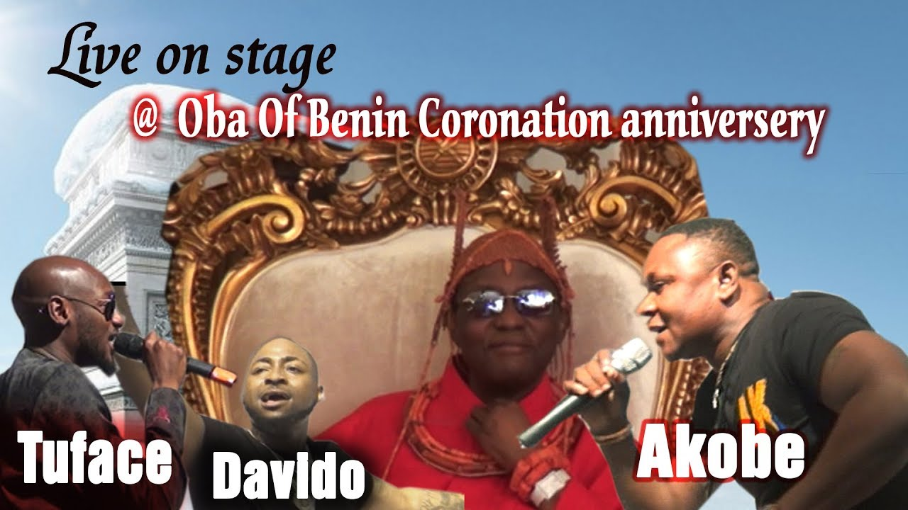 Download AKOBE, DAVIDO AND TUFACE LIVE ON STAGE (@ OBA OF BENIN CORONATION ANNIVERSARY PARTY)