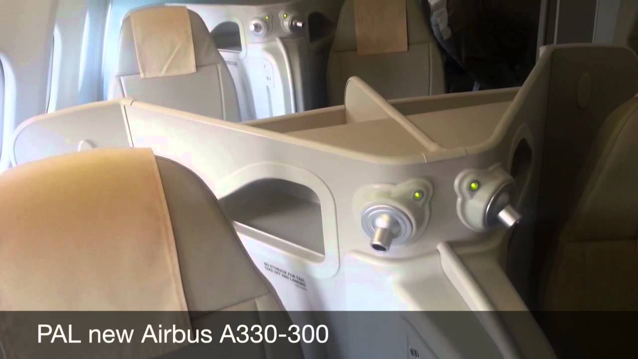 Philippines Airlines Business Class New Airbus A330 300 Manila Tokyo Mabuhay Lounge Youtube