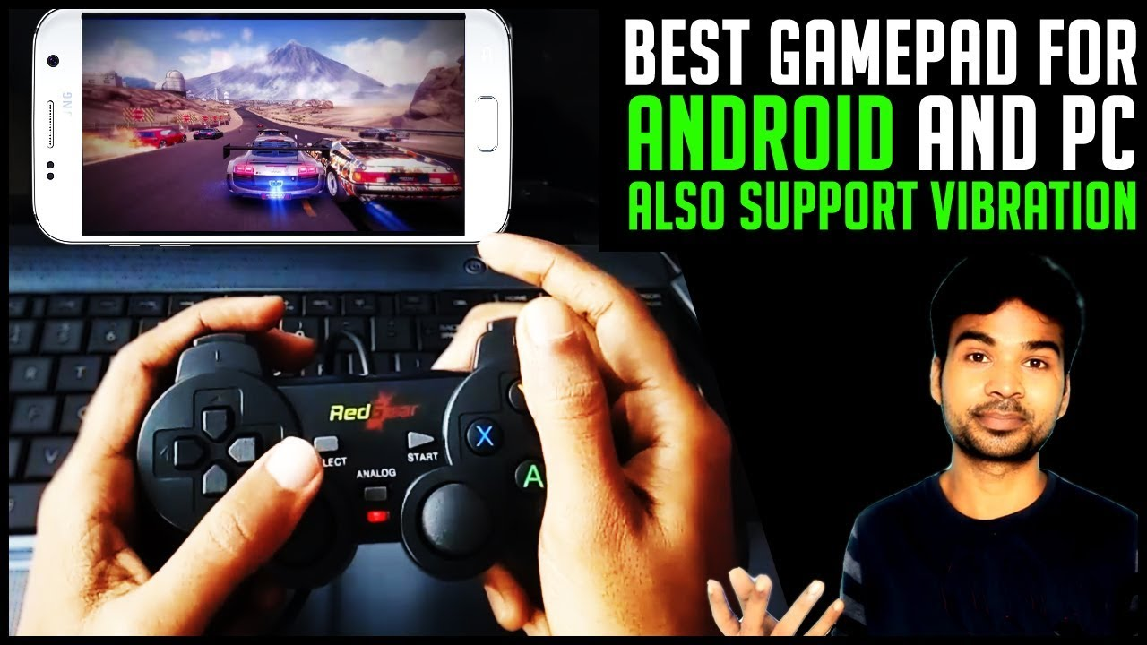 Best Gamepad for Android Smartphone supports vibration | RedGear Smartline  Gamepad Review