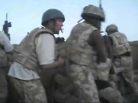 Royal irish in Afghanistan (RAW FOOTAGE)