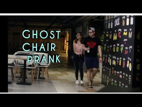 GHOST CHAIR PRANK !!!