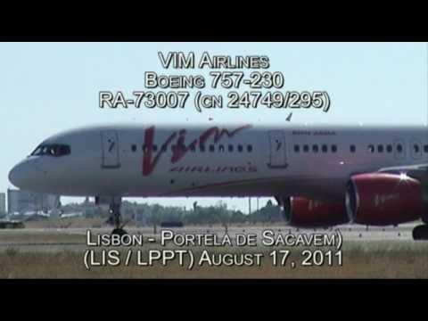 VIM Airlines Boeing 757-230 RA-73007 (cn 24749/295)