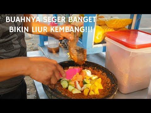 BIKIN LIUR KEMBANG!!! RUJAK BUAH KANG IVAN IDOLANYA ANAK KAMPUS!! |PONTIANAK STREET FOOD