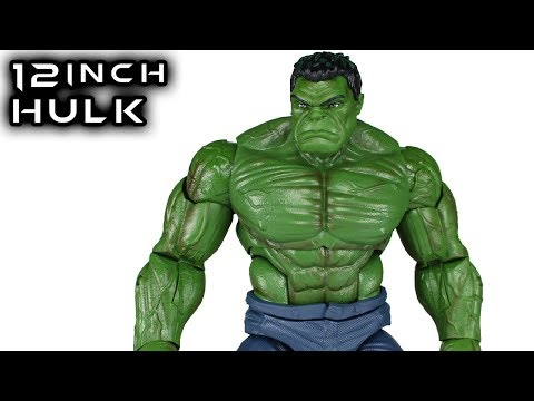 Marvel Legends 12 Inch HULK 1:6 Scale Action Figure Toy Review