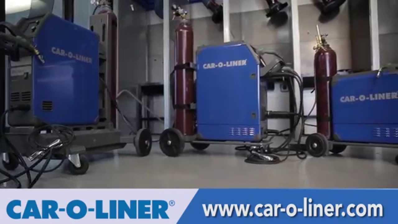 Car-O-Liner MIG Welders for Aluminum Vehicle Collision Repair ...