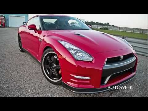 2013 Nissan GT-R Black Edition - on-track review video