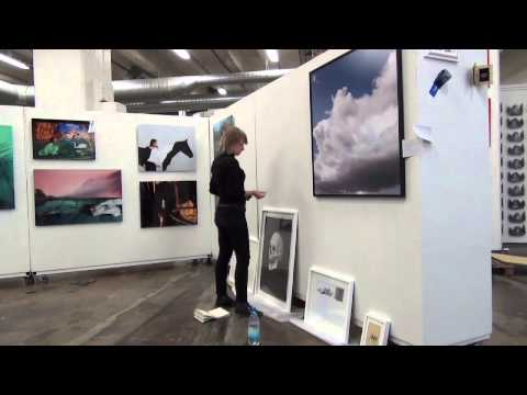 Art Fair Suomi 2013. Cable Factory, Helsinki, Finland. Video1.