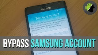 how to Bypass Samsung Account/Reactivation lock on Samsung Galaxy 2016 (method 1)