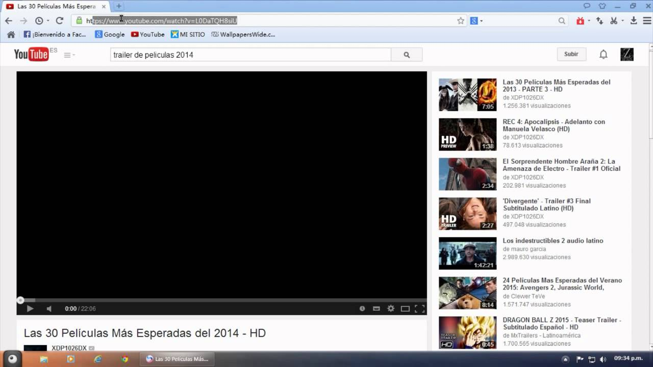youtube descargar peliculas gratis en español
