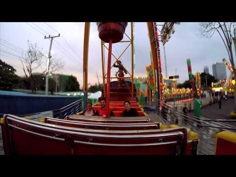 เครื่องเล่น GALEONE - สวนสนุก Global Carnival 2016