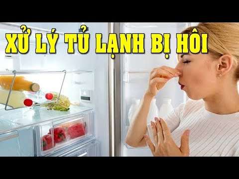 Mẹo khử mùi hôi tủ lạnh với 6 bước đơn giản, ai cũng có thể dễ dàng làm được