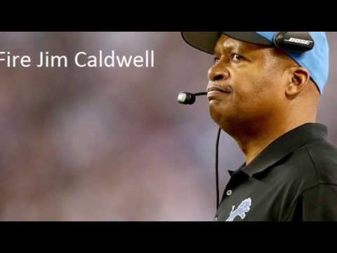 Why the Detroit Lions should fire Jim Caldwell