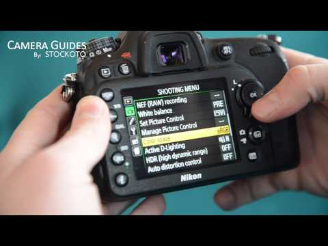 How to shoot HDR photos with the Nikon D7100