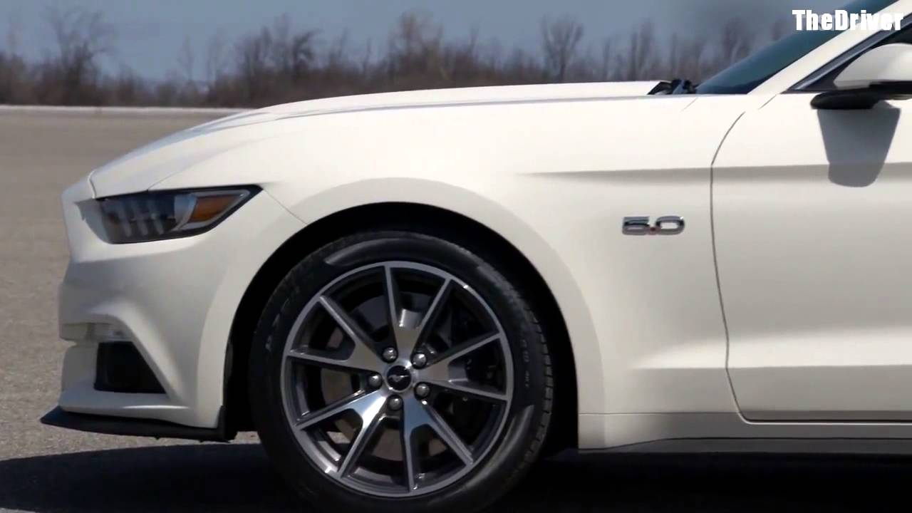 2015 Ford Mustang 50th Anniversary Edition  YouTube