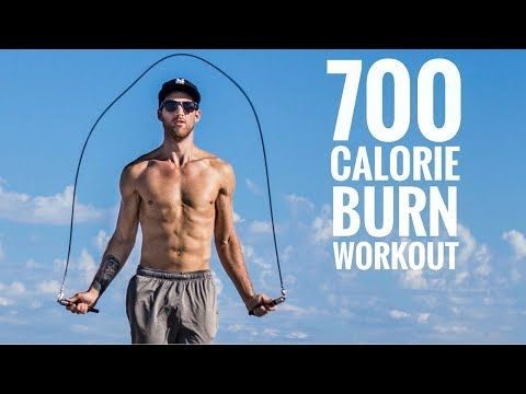 700 Calorie Burn Jump Rope Workout