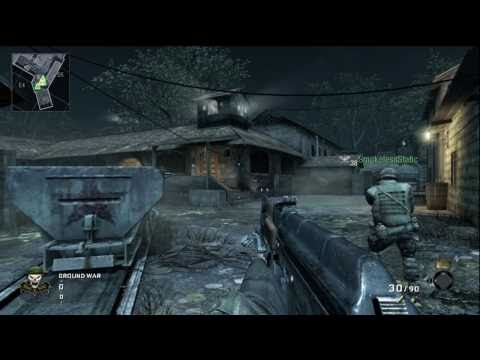 Call of Duty Black Ops - Hanoi - Team Deathmatch (32-2) No Commentary - IzDivine