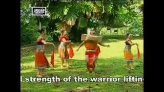 Iban Dance - Ngajat Atas Lesong