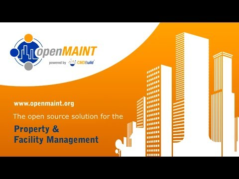 openMAINT, the open source solution for the Property & Facility Manage