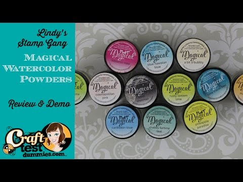 Lindy's Stamp Gang Magical (powdered dyes)