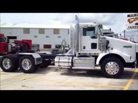 kenworth t800 daycabs for sale bossier city shreveport la porter truck sales youtube. Black Bedroom Furniture Sets. Home Design Ideas