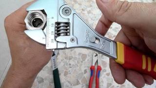 Разводной   ключ(Разводные ключи и принцип их работ . Kraftool , Fit , Knipex - всех их объединяет только одно : они все на 250 мм. Принци..., 2011-08-31T15:51:46.000Z)