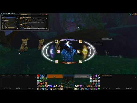 BFA 8.0.1 Balance Druid WeakAuras HUD