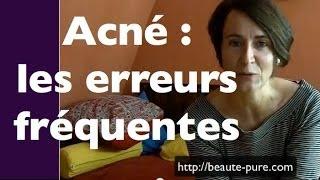 Ne faites pas ces erreurs en soignant votre acné...