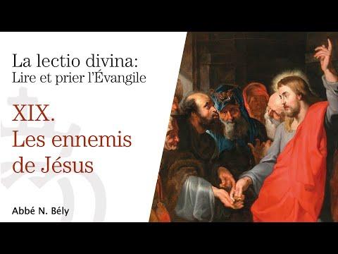 Conférences sur la Lectio divina - XIX. Les ennemis de Jésus - par l'abbé Nicolas Bély
