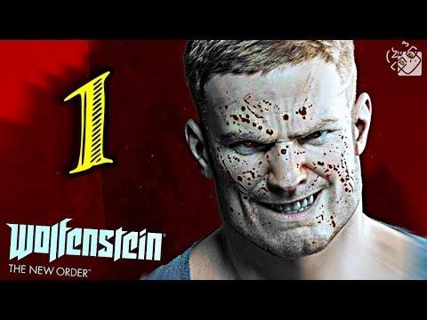 Прохождение Wolfenstein The New Order Часть 2 Железные