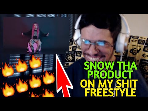 SNOW THA PRODUCT - ON MY SHIT FREESTYLE (OFFICIAL MUSIC VIDEO) (Reaction)