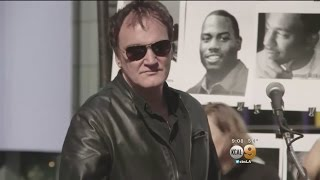 """Tarantino Responds To Backlash From His Police Brutality Remarks: """"I'm Not A Cop Hater"""""""