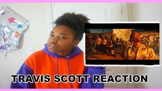 Travis Scott - STOP TRYING TO BE GOD REACTION